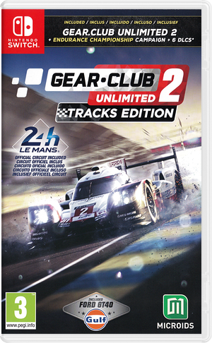 Gear.Club Unlimited 2 Switch cover (AP6TA)