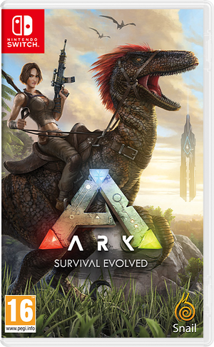 ARK - Survival Evolved Switch cover (AQDWA)