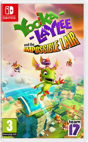 Yooka-Laylee and the Impossible Lair Switch cover (ATLWA)