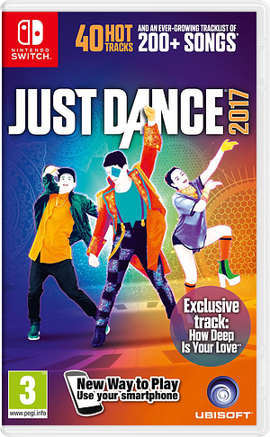 Just Dance 2017 Switch cover (BAAAA)