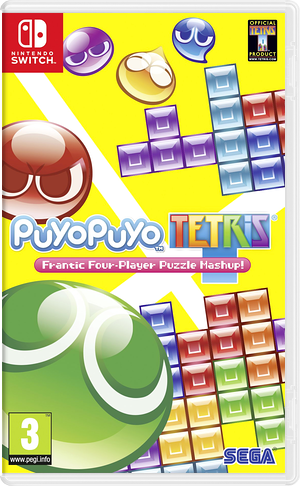 Puyo Puyo Tetris Switch cover (BAACC)