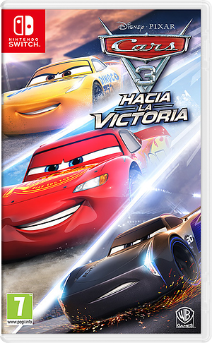 Cars 3: Driven to Win Switch cover (ABTDB)