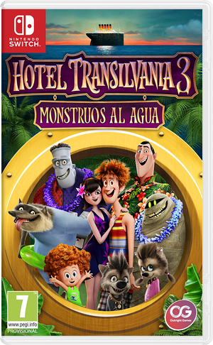 Hotel Transylvania 3 - Monsters Overboard Switch cover (AJ7TA)