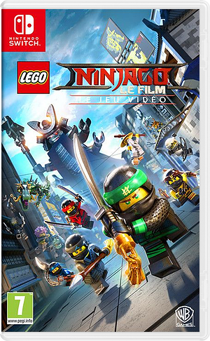 The LEGO NINJAGO Movie Video Game pochette Switch (AB4JB)