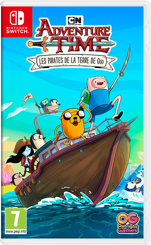 Adventure Time - Pirates of the Enchiridion pochette Switch (AES9A)