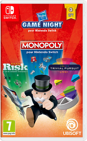 Hasbro Game Night pochette Switch (ARRUA)