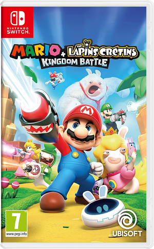 Mario + Rabbids: Kingdom Battle pochette Switch (BAANA)
