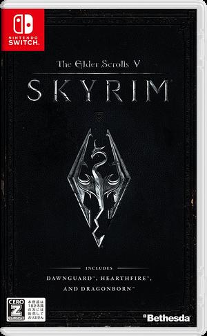 The Elder Scrolls V - Skyrim Switch cover (AF3CB)