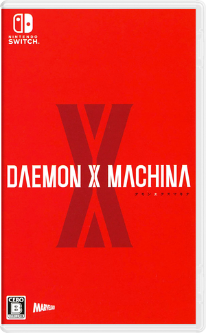 Daemon x Machina Switch cover (AF6GA)