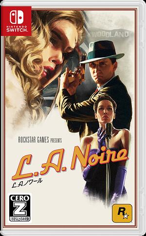 L.A.ノワール Switch cover (AFQMC)