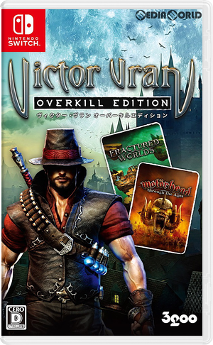 Victor Vran - Overkill Edition Switch cover (AJ9KE)