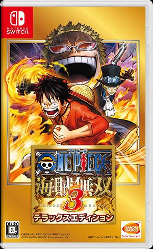 ワンピース 海賊無双3 デラックスエディション Switch cover (AJA8A)