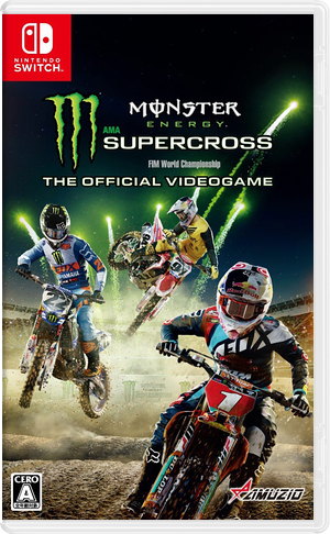 Monster Energy Supercross - The Official Videogame Switch cover (AJJ7B)