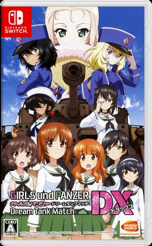 Girls und Panzer - Dream Tank Match DX Switch cover (ARMXA)