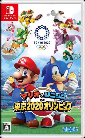 マリオ&ソニック AT 東京2020オリンピック Switch cover (ARQPA)