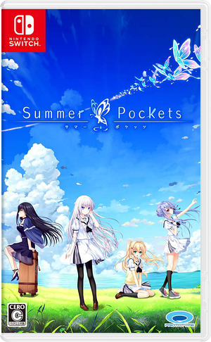 Summer Pockets Switch cover (ASB8A)