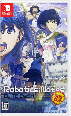Robotics;Notes Otoku Set Switch cover (ASU8A)