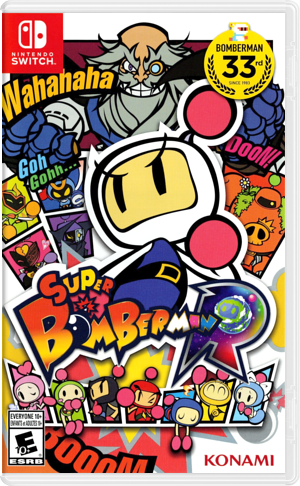Super Bomberman R Switch cover (AAB8A)