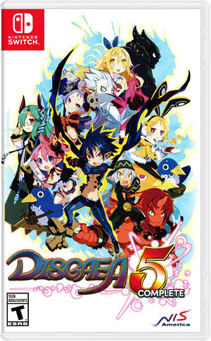 Disgaea 5 Complete Switch cover (AACAC)