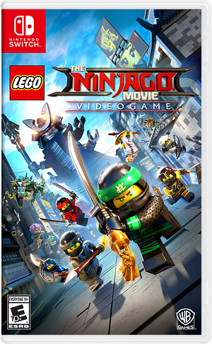 The LEGO NINJAGO Movie Video Game Switch cover (AB4JA)