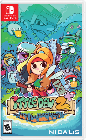 Ittle Dew 2+ Switch cover (AB93A)