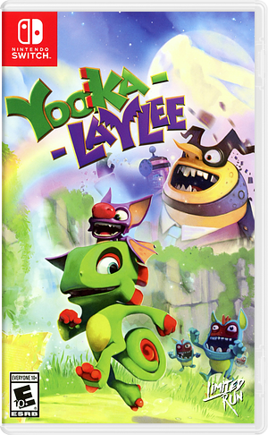 Yooka-Laylee Switch cover (ACKBC)