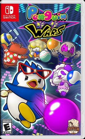 Penguin Wars Switch cover (ADEUB)
