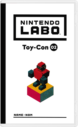 Nintendo Labo - Toy-Con 02: Robot Kit Switch cover (ADFVA)