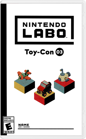 Nintendo Labo - Toy-Con 03: Vehicle Kit Switch cover (ADFWA)