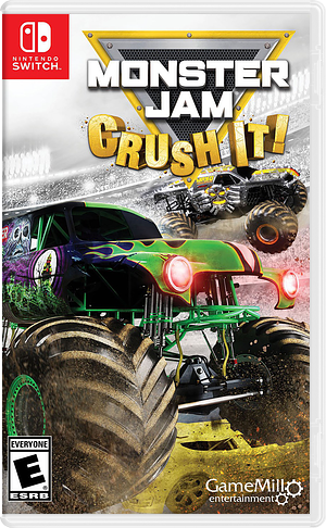 Monster Jam: Crush It! Switch cover (ADK7A)