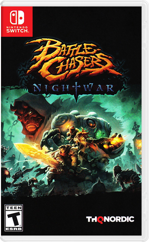 Battle Chasers: Nightwar Switch cover (ADM9A)