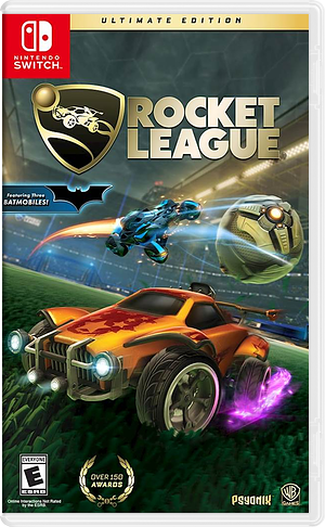Rocket League Ultimate Edition Switch cover (ADMMC)