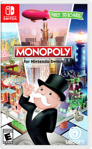 Monopoly for Nintendo Switch Switch cover (ADQPA)