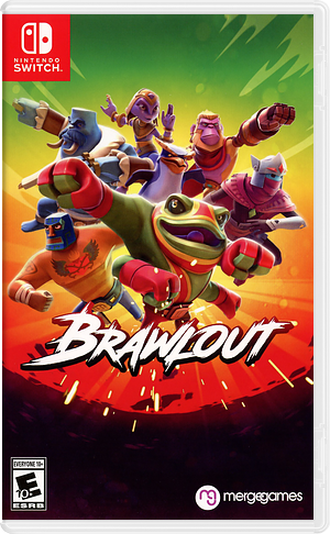 Brawlout Switch cover (AEBNC)