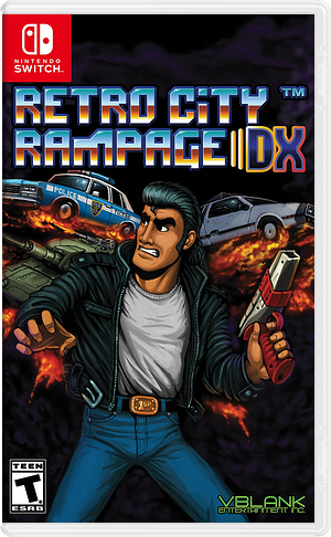 Retro City Rampage DX Switch cover (AECRA)