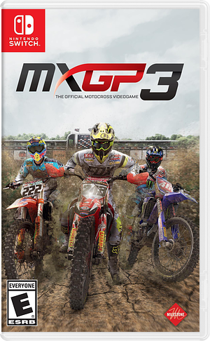 MXGP3: The Official Motocross Videogame Switch cover (AGXWA)