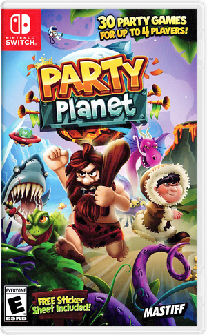 Party Planet Switch cover (AHABA)
