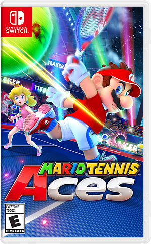 Mario Tennis Aces Switch cover (ALERA)