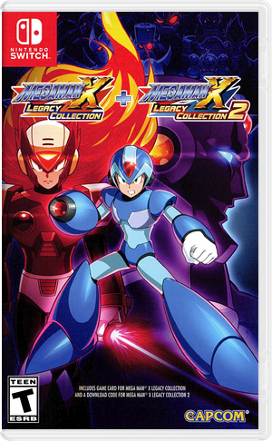 Mega Man X Legacy Collection Switch cover (ALGGA)