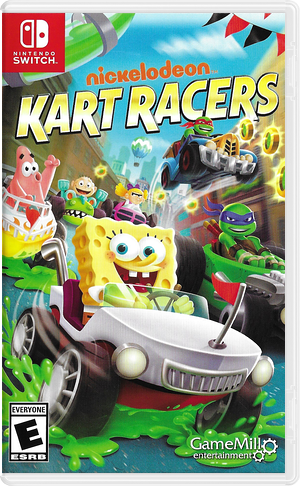 Nickelodeon Kart Racers Switch cover (AMPZA)