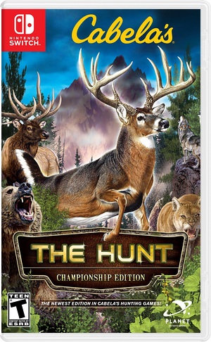 Cabela's - The Hunt - Championship Edition Switch cover (AMU4A)