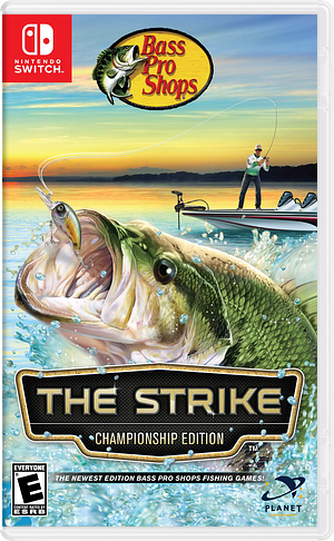 Bass Pro Shops - The Strike - Championship Edition Switch cover (AMU5A)