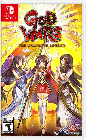 God Wars the Complete Legend Switch cover (ANUNB)
