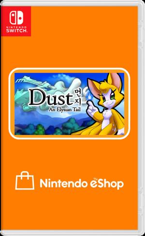 Dust: An Elysian Tail eShop cover (APAHA)