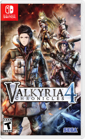 Valkyria Chronicles 4 Switch cover (APSBB)