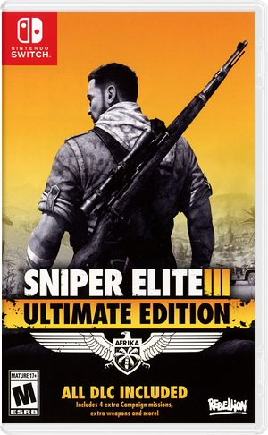 Sniper Elite 3 Ultimate Edition Switch cover (AQ3RA)
