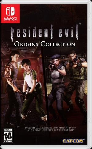 Resident Evil 0 Switch cover (AQ76B)