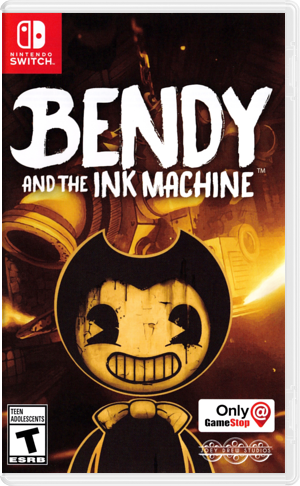 Bendy and the Ink Machine Switch cover (AQ8UA)