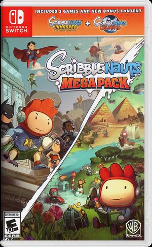 Scribblenauts Mega Pack Switch cover (AQBRA)