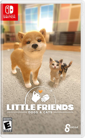 Little Friends: Dogs & Cats Switch cover (AQQDB)